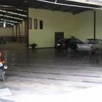 Estacionamento coberto