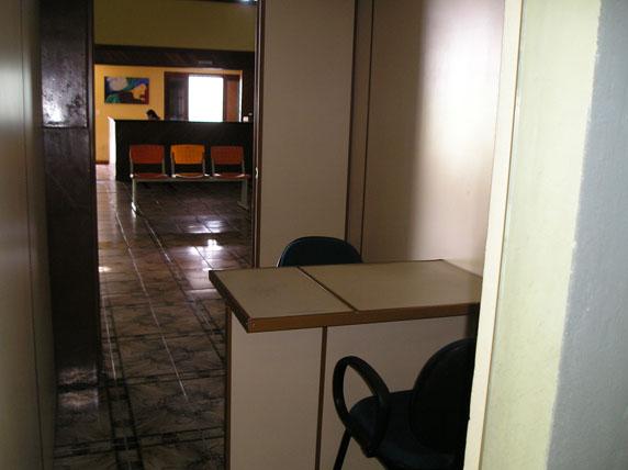 Salas separadas para atendimento